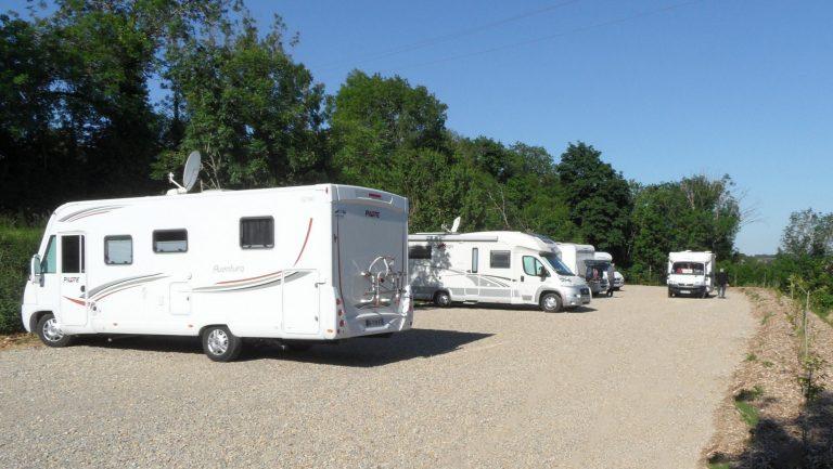 Aire de camping-cars gratuite