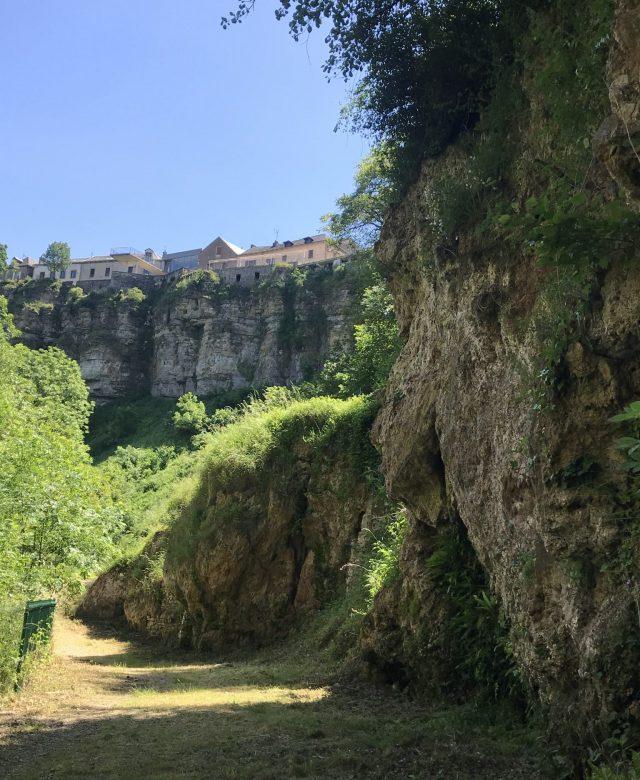 sentier botanique falaises